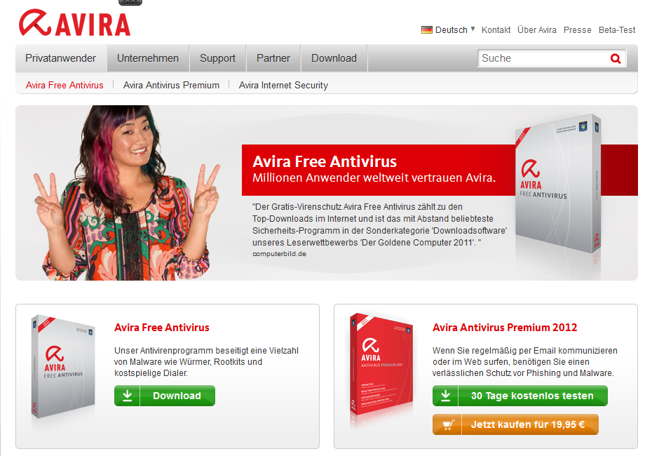 kostenlos antivirenprogramm