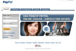 Achtung! Paypal Fake Mail – Bitte aktualisieren Sie Ihre persönlichen Daten