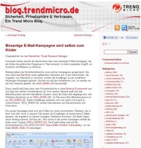 Blog Trendmicro