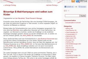 Metaspam: Vorsicht bei gefälschten Spam-Warnungen