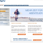 Gefälschte PayPal-Benachrichtigung von paypal.de@e.paypal.de im Umlauf