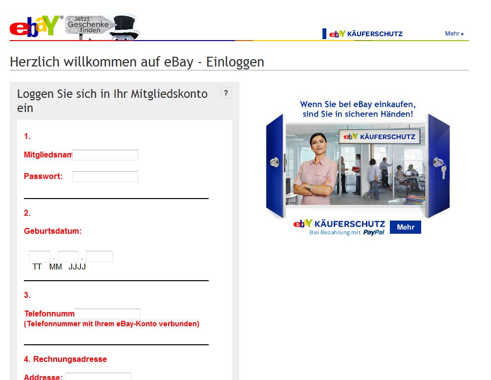 viele betrüger angebote bei ebay mit paypal