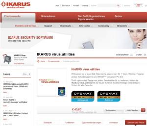 Ikarus Virus Utilities