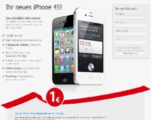 1 Euro Iphone - Vorsicht Falle
