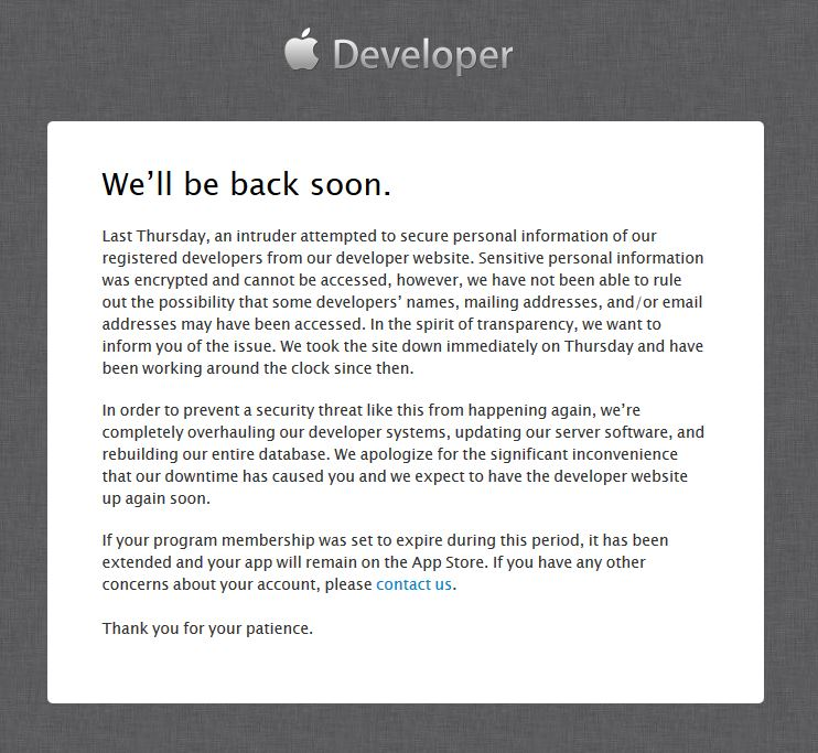 Hacker-Angriff auf Apple