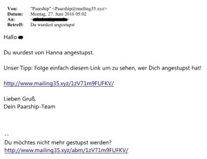 Paarship-Spam