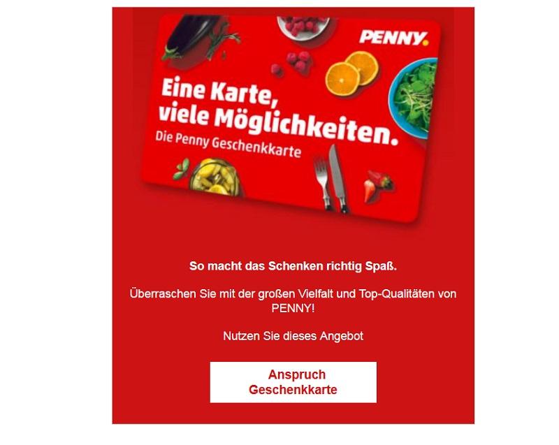 Proleagion Penny Gewinnspiel Spam
