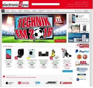electronic4you-Kunden wurden Spam-Opfer