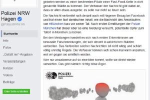 Facebook-Falschmeldungen sind strafbar!