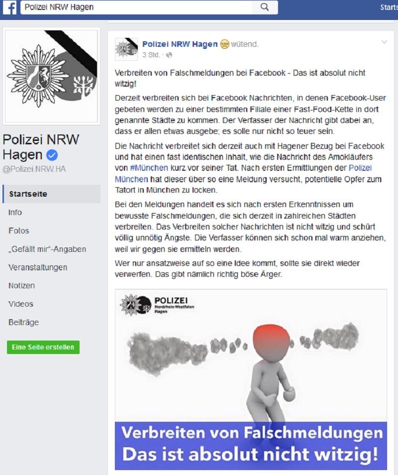 Hoax Drogen Visitenkarte Anti Spam Info