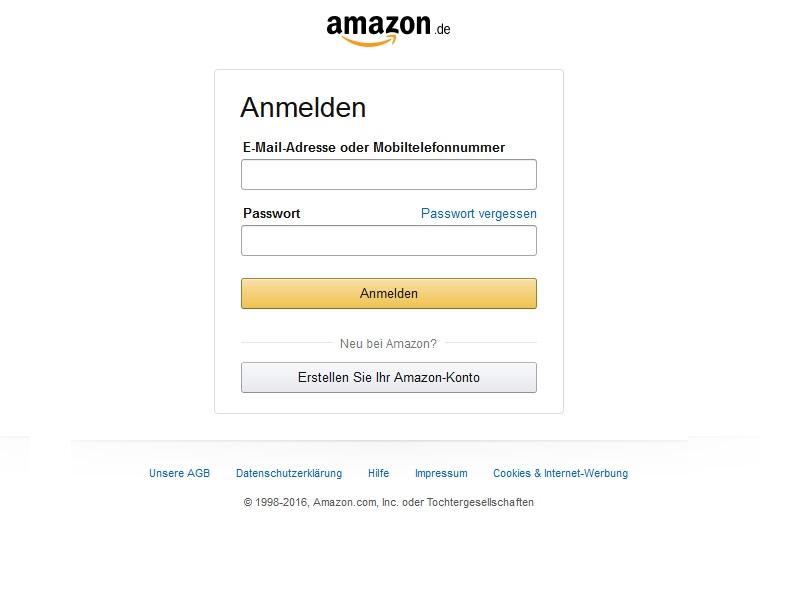 Amazon-Phishing