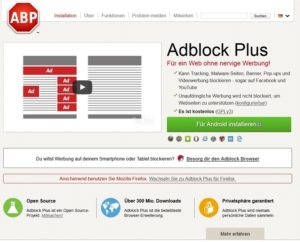 AdBlock Plus - Spam-Schutz für Android (Screenshot @adblockplus.org)