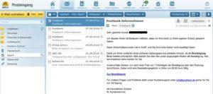 Postbank-Phishing