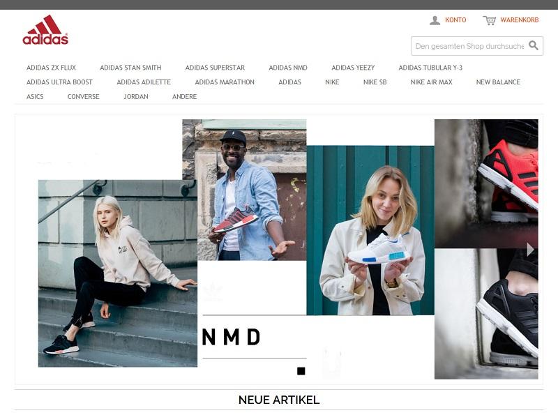 new style 3fdcc de75b adidas-schuhe-rabatt.com: Unseriöser Online-Shop - Anti-Spam ...
