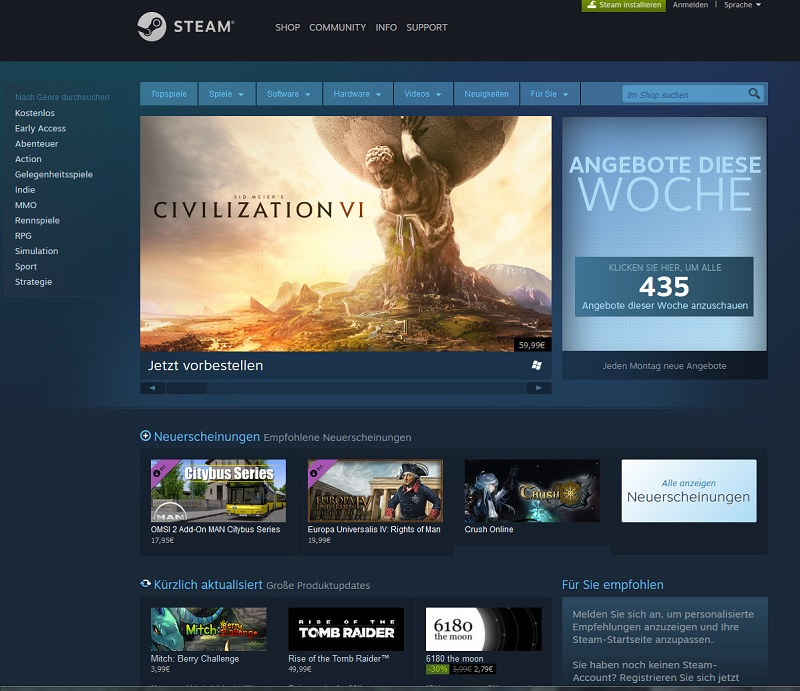 Steam (Screenshot)