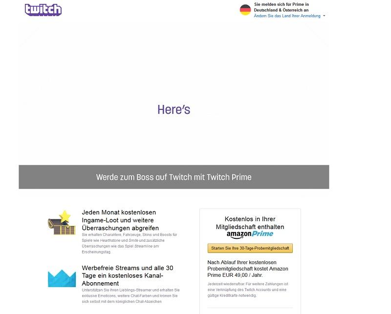 Twitch-Prime-Vorteile (Screenshot @twitch.amazon.com)
