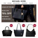 Michael Kors Spam: Limited Sale 70% Off
