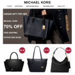 Michael Kors Spam: Limited Sale 70% Off