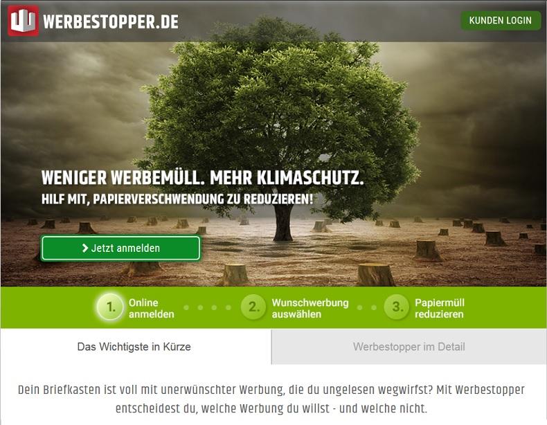 Werbestopper.de sorgt für noch mehr Spam