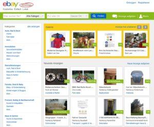 eBay Kleinanzeigen Betrug per PayPal (Screenshot @ ebay-kleinanzeigen.de)