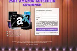 Mit 200€ Amazon-Gutschein zum Spam-Opfer