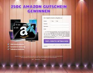 Amazon Gutschein im Wert von 500 € gewinnen?