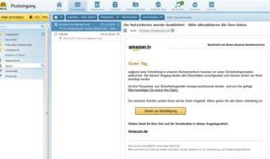 Amazon-Nutzerkonto-Phishing