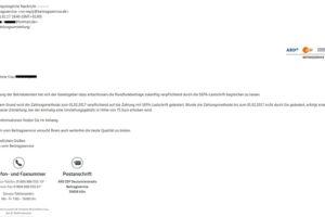 Beitragsservice-Virus: Gebühr für SEPA-Umstellung?!
