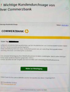 Commerzbank-Phishing