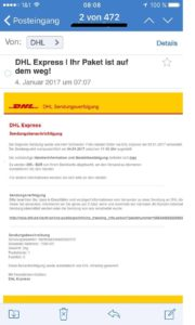 DHL Express Spam