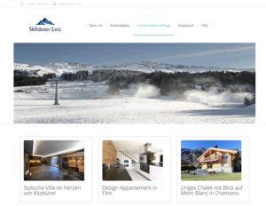 Fake-Shop skihaeuser (Screenshot skihaeuser.com)
