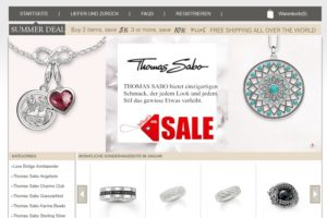Fake-Shop: thomas-saboarmband.de
