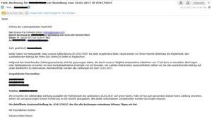 Ein Virus im Anhang: Pay Online24 GmbH