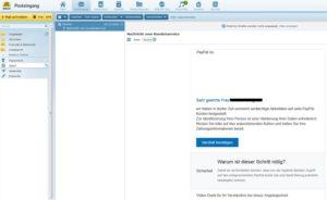 PayPal-Kundenservice-Phishing