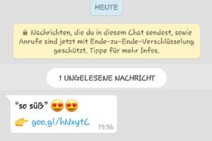 WhatsApp-Fake: Betrug mit romantischen Emoticons