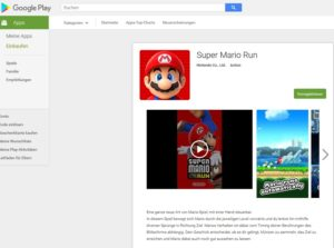 Super Marion Run (Screenshot play.google.com)