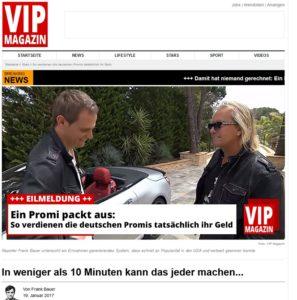 VIP-Magazin-Spam