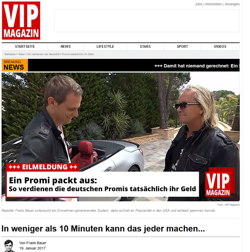 VIP-Magazin-Spam