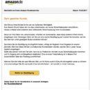 """Amazon-Phishing: """"Verbesserte Verschlüsselung Ihrer Kundendaten"""""""