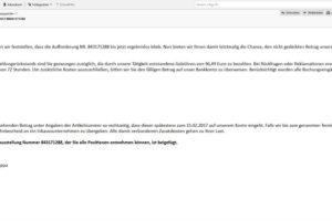 """Amazon-Rechnung: """"Rechnung zur Bestellung NR 843171288"""""""