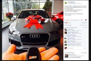 Audi RS7-Gewinnspiel: Knallergewinn ist Facebook-Fake