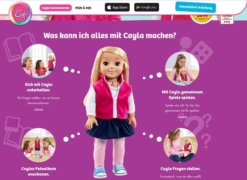 Verbot der Cayla-Puppe