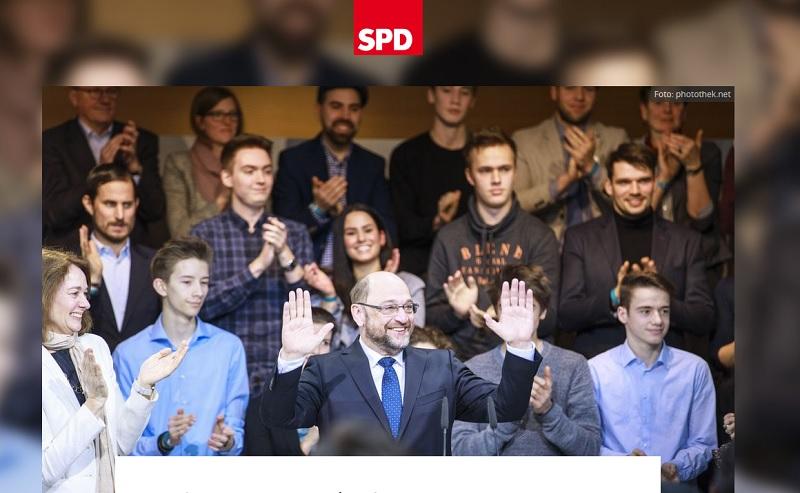 Martin-Schulz-Zitat echt? (Screenshot: martinschulz.spd.de)