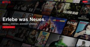 Netflix Login Generator (Original-Screenshot netflix.com)