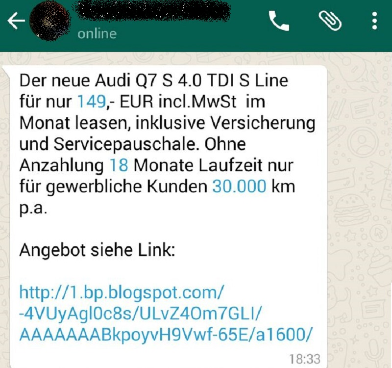 WhatsApp-Fake