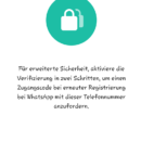 Mehr Sicherheit: WhatsApp-Update jetzt!