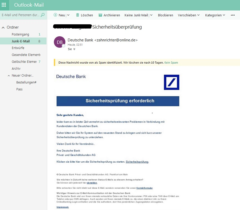 Deutsche-Bank-Phishing