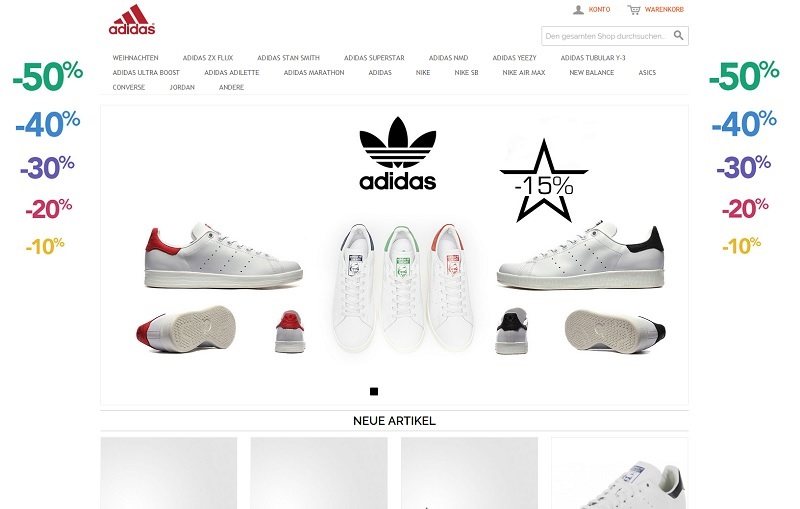 Fake-Shop schuhe-rabatt.com