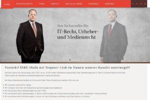 Kanzlei Schutt-Waetke: Fake-Abmahnungen per Mail