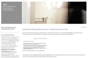 Kanzlei Waldorf Frommer: Fake-Abmahnungen per Mail